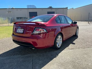 2011 Ford Falcon FG Upgrade XR6 Red 6 Speed Auto Seq Sportshift Sedan.