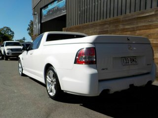 2009 Holden Ute VE MY10 SV6 White 6 Speed Sports Automatic Utility