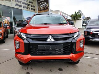 2021 Mitsubishi Triton MR MY21 GSR Double Cab Sunflare Orange 6 Speed Sports Automatic Utility.