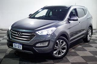 2015 Hyundai Santa Fe DM2 MY15 Highlander Grey 6 Speed Sports Automatic Wagon.