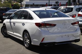 2018 Hyundai Sonata LF4 MY19 Active White 8 Speed Sports Automatic Sedan.