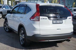 2013 Honda CR-V RM VTi-L 4WD White 5 Speed Automatic Wagon