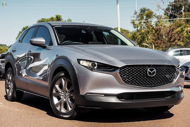New Mazda CX-30 DM2W7A G20 SKYACTIV-Drive Evolve Waitara, 2021 Mazda CX-30 DM2W7A G20 SKYACTIV-Drive Evolve Silver 6 Speed Sports Automatic Wagon