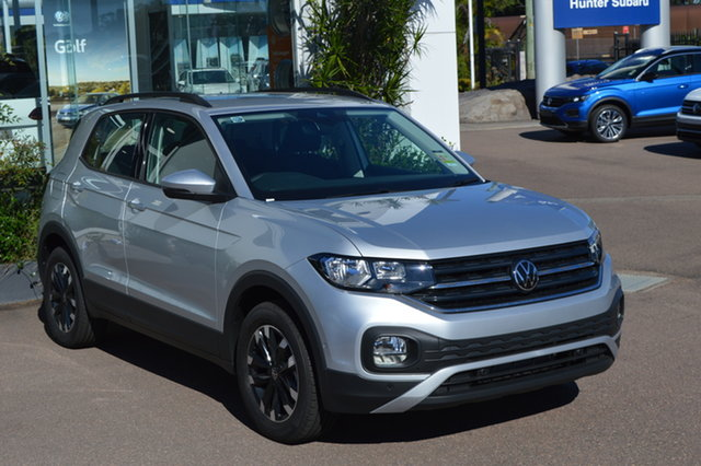 New Volkswagen T-Cross C1 MY21 85TSI DSG FWD Life Maitland, 2021 Volkswagen T-Cross C1 MY21 85TSI DSG FWD Life 8e8e 7 Speed Sports Automatic Dual Clutch Wagon