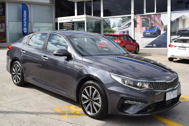 Used Kia Optima JF MY20 SI Ferntree Gully, 2019 Kia Optima JF MY20 SI Platinum Graphite 6 Speed Sports Automatic Sedan