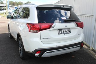 2020 Mitsubishi Outlander ZL MY21 Exceed AWD White 6 Speed Sports Automatic Wagon