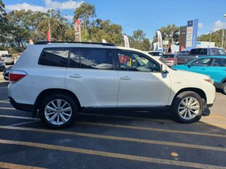 2012 Toyota Kluger GSU45R MY12 Altitude AWD White 5 Speed Sports Automatic Wagon
