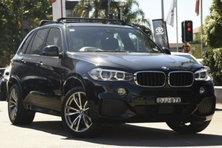 2016 BMW X5 F15 MY15 xDrive30d Black 8 Speed Automatic Wagon.