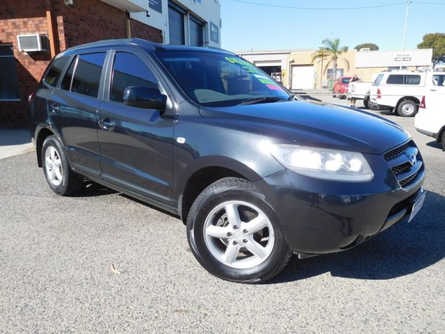 Used Hyundai Santa Fe CM MY07 SX Wangara, 2007 Hyundai Santa Fe CM MY07 SX Black 5 Speed Sports Automatic Wagon