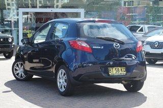 2012 Mazda 2 DE MY13 Neo Blue 4 Speed Automatic Hatchback.