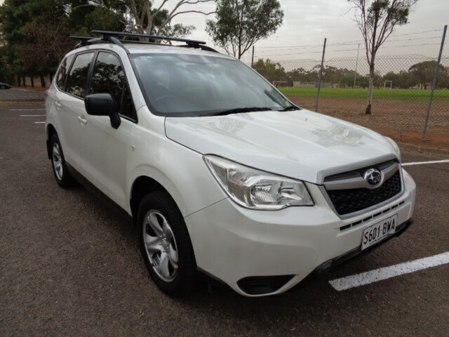 Used Subaru Forester S4 MY14 2.5i Lineartronic AWD Elizabeth, 2014 Subaru Forester S4 MY14 2.5i Lineartronic AWD White 6 Speed Constant Variable Wagon