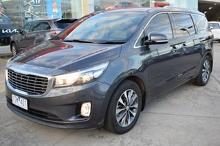 2016 Kia Carnival YP MY16 SLi Grey 6 Speed Sports Automatic Wagon.