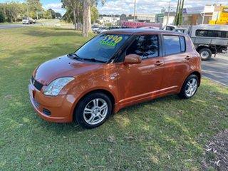 2005 Suzuki Swift RS415 Orange 5 Speed Manual Hatchback