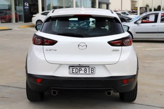 2019 Mazda CX-3 DK2W7A sTouring SKYACTIV-Drive FWD White 6 Speed Sports Automatic Wagon