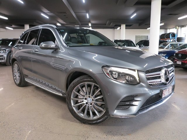 Used Mercedes-Benz GLC-Class X253 807MY GLC220 d 9G-Tronic 4MATIC Albion, 2016 Mercedes-Benz GLC-Class X253 807MY GLC220 d 9G-Tronic 4MATIC Grey 9 Speed Sports Automatic