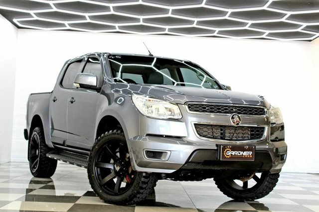 Used Holden Colorado RG MY16 LS-X (4x4) Burleigh Heads, 2016 Holden Colorado RG MY16 LS-X (4x4) Grey 6 Speed Automatic Crew Cab Pickup