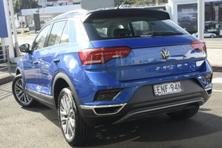2021 Volkswagen T-ROC A1 MY21 110TSI Style Ravenna Blue 8 Speed Sports Automatic Wagon.