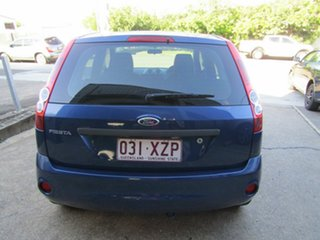 2007 Ford Fiesta WQ LX Blue 5 Speed Manual Hatchback.