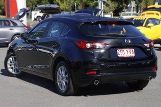 2018 Mazda 3 BN5478 Maxx SKYACTIV-Drive Sport Jet Black 6 Speed Sports Automatic Hatchback