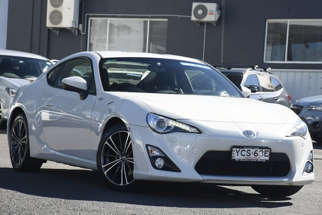 Pre-Owned Toyota 86 ZN6 GTS Brookvale, 2014 Toyota 86 ZN6 GTS White 6 Speed Manual Coupe
