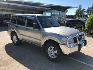 2005 Mitsubishi Pajero NP MY06 GLX Gold 5 Speed Sports Automatic Wagon.