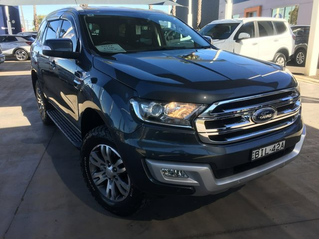 Used Ford Everest UA Trend Dubbo, 2015 Ford Everest UA Trend Grey Sports Automatic