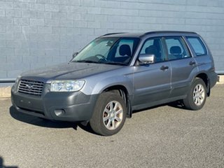 2007 Subaru Forester 79V MY07 X AWD Silver 4 Speed Automatic Wagon.