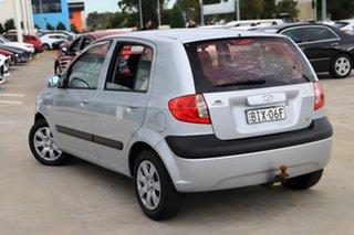 2008 Hyundai Getz TB MY09 S Silver 4 Speed Automatic Hatchback.