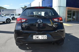 2016 Mazda 2 DJ2HAA Maxx SKYACTIV-Drive Black 6 Speed Sports Automatic Hatchback