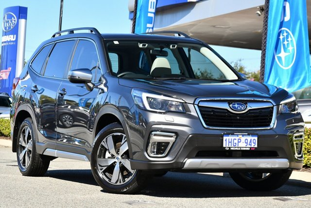 Used Subaru Forester S5 MY21 2.5i-S CVT AWD Melville, 2020 Subaru Forester S5 MY21 2.5i-S CVT AWD Magnetite Grey 7 Speed Constant Variable Wagon