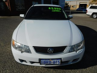 2004 Holden Commodore VY II Equipe White 4 Speed Automatic Sedan.