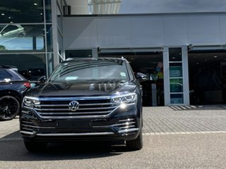 2020 Volkswagen Touareg CR MY20 190TDI Tiptronic 4MOTION Adventure Black 8 Speed Sports Automatic.