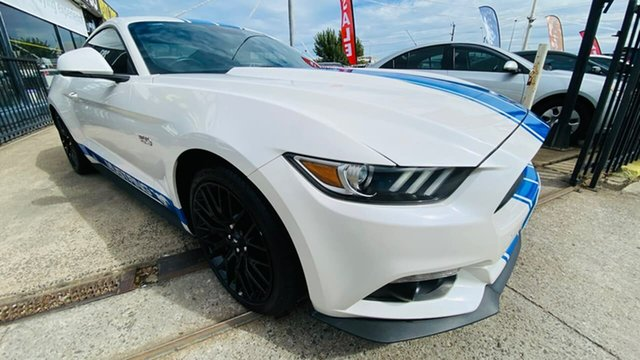 Used Ford Mustang FM 2017MY GT Fastback Maidstone, 2017 Ford Mustang FM 2017MY GT Fastback White 6 Speed Manual Fastback