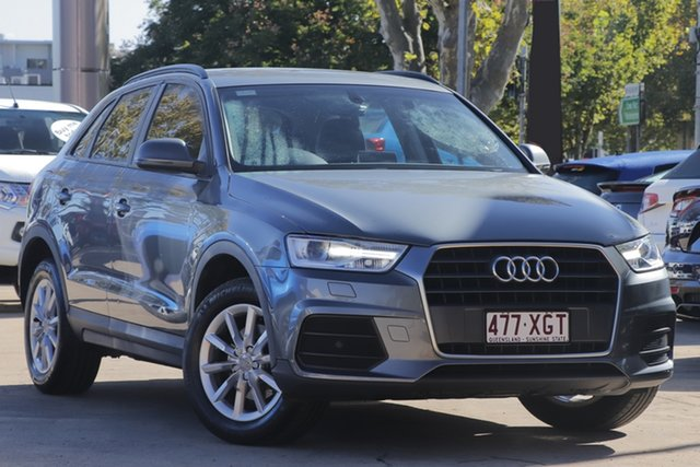 Used Audi Q3 8U MY17 TFSI S Tronic Toowoomba, 2016 Audi Q3 8U MY17 TFSI S Tronic Grey 6 Speed Sports Automatic Dual Clutch Wagon