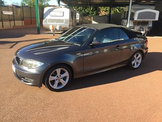 2008 BMW 120i E88 Grey 6 Speed Automatic Convertible