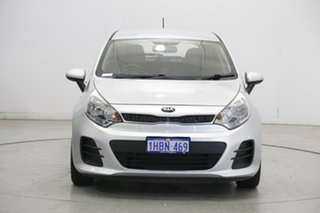 2016 Kia Rio YB MY17 S Silver 4 Speed Sports Automatic Hatchback.