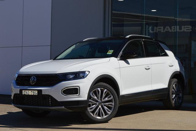 Demo Volkswagen T-ROC A1 MY21 110TSI Style Maitland, 2021 Volkswagen T-ROC A1 MY21 110TSI Style 0qa1 8 Speed Sports Automatic Wagon