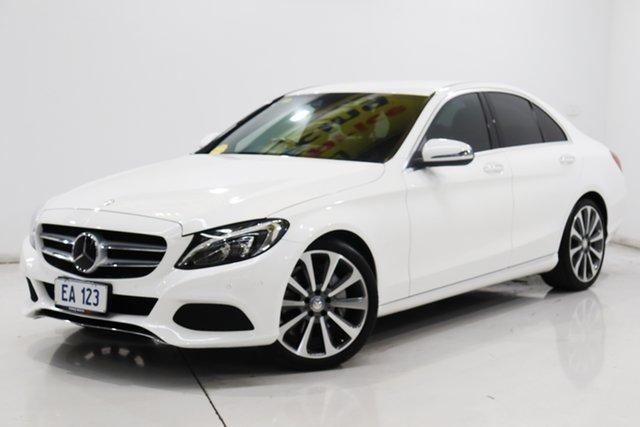 Used Mercedes-Benz C-Class W205 C250 BlueTEC 7G-Tronic + Brooklyn, 2015 Mercedes-Benz C-Class W205 C250 BlueTEC 7G-Tronic + White 7 Speed Sports Automatic Sedan