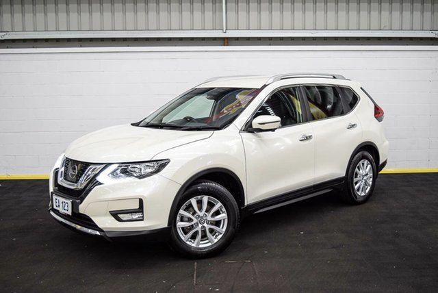 Used Nissan X-Trail T32 Series II ST-L X-tronic 2WD Canning Vale, 2017 Nissan X-Trail T32 Series II ST-L X-tronic 2WD White 7 Speed Constant Variable Wagon