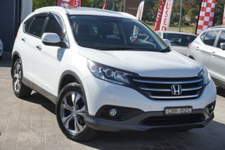 2013 Honda CR-V RM VTi-L 4WD White 5 Speed Automatic Wagon.