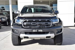 2019 Ford Ranger PX MkIII 2020.25MY Raptor Black 10 Speed Sports Automatic Double Cab Pick Up.