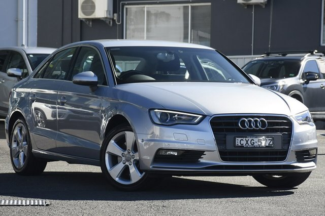 Pre-Owned Audi A3 8V MY16 Ambition S Tronic Quattro Brookvale, 2015 Audi A3 8V MY16 Ambition S Tronic Quattro Silver 6 Speed Sports Automatic Dual Clutch Sedan
