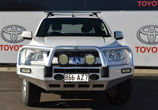 2013 Holden Colorado RG LX (4x4) White 5 Speed Manual Crew Cab Pickup.