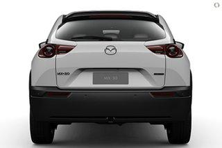 2021 Mazda MX-30 DR2W7A G20e SKYACTIV-Drive Touring White 6 Speed Sports Automatic Wagon