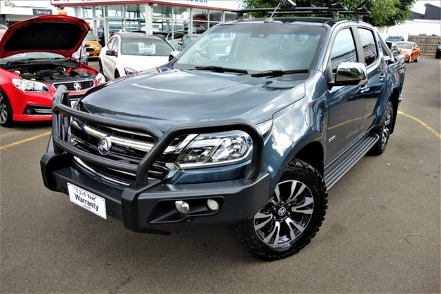 Used Holden Colorado RG MY19 LTZ Pickup Crew Cab Seaford, 2018 Holden Colorado RG MY19 LTZ Pickup Crew Cab Grey 6 Speed Sports Automatic Utility