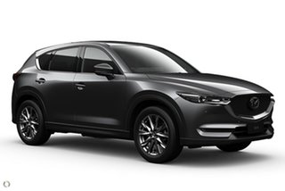2021 Mazda CX-5 KF4WLA Akera SKYACTIV-Drive i-ACTIV AWD Grey 6 Speed Sports Automatic Wagon.