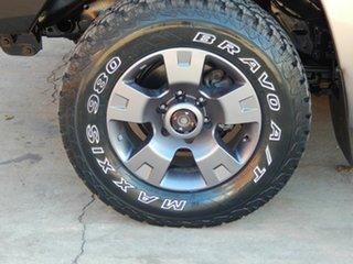 2008 Nissan Patrol GU 6 MY08 ST Gold 5 Speed Manual Wagon.