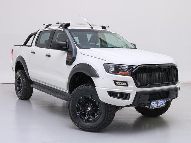 Used Ford Ranger PX MkII XL 3.2 Plus (4x4), 2016 Ford Ranger PX MkII XL 3.2 Plus (4x4) White 6 Speed Automatic Crew Cab Utility