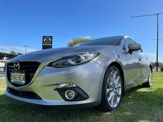 2014 Mazda 3 BM5438 SP25 SKYACTIV-Drive GT Aluminium 6 Speed Sports Automatic Hatchback.