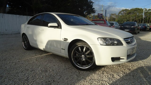 Used Holden Commodore VE MY10 Omega Seaford, 2010 Holden Commodore VE MY10 Omega White 6 Speed Sports Automatic Sedan